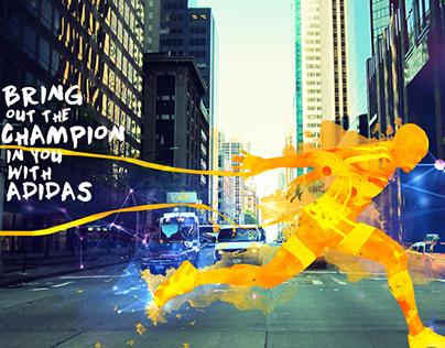 Spirit of Wipro Run 2015 - Adidas Training