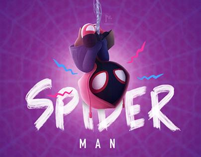 Spiderman Verse Caricature Concept