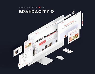 iXmas eCommerce UI Kit | Christmas Store Web Design