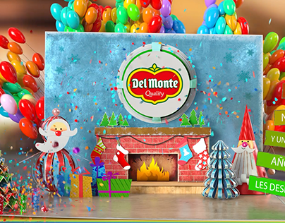 Del Monte Panama Pop Up Book