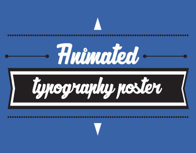 Animated Typography Poster