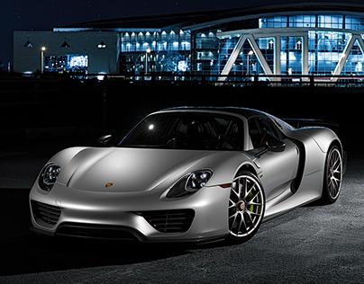 Porsche Samples - CGI & Retouching