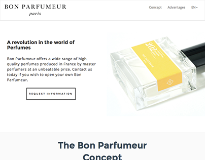 Website - Partnership.BonParfumeur.com