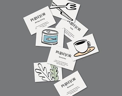 Purveyor - Branding
