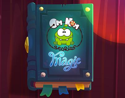Backgrounds for Om Nom Stories: Magic.