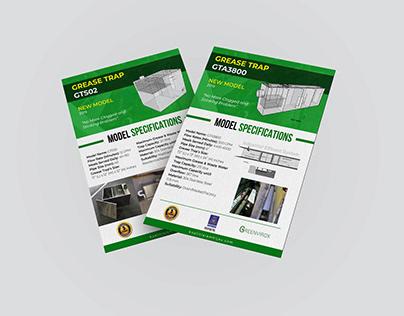 Product Flyers (Greenvirox)