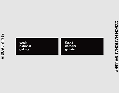 Czech National Gallery—Visual Identity
