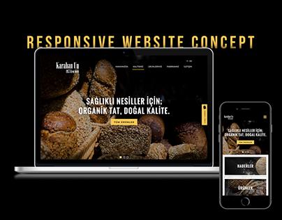 Karahan Un Website Concept