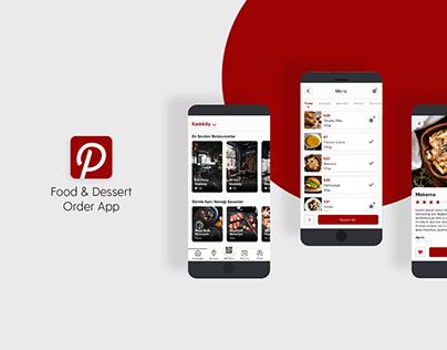PapperApp; Food & Dessert Order App