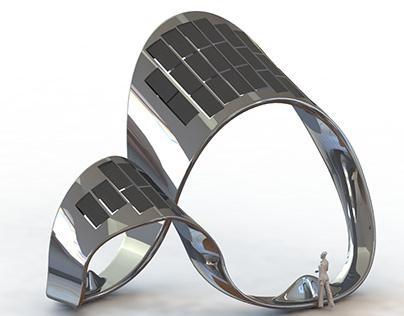 solar + storage sculpture