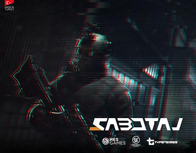 Sabotaj Game Login Screen
