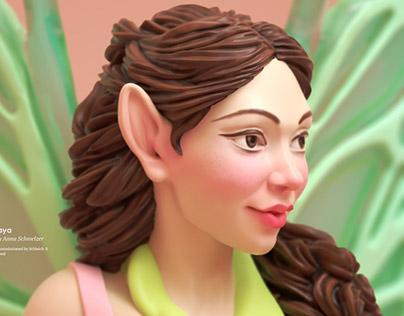 Elf Femaja - Toy Figure