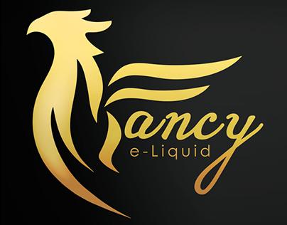 Fancy E-liquid Sticker and Brochure designs