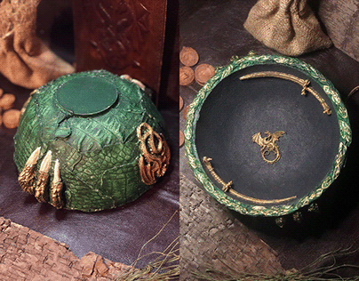 Dragon Altar Bowl