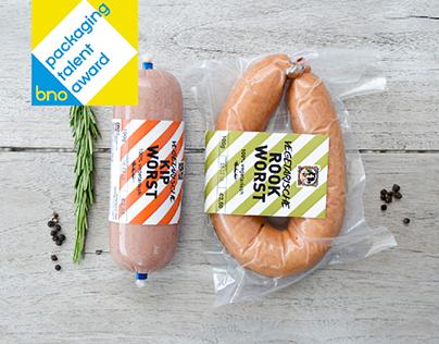 Vegetarian Butcher   Packaging Concept
