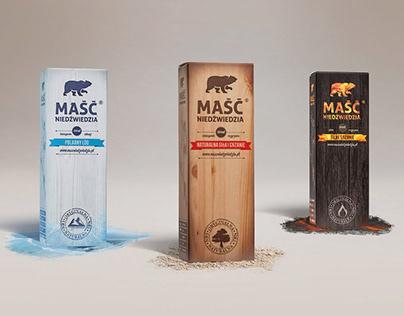 Bear Ointment® - Packaging Design