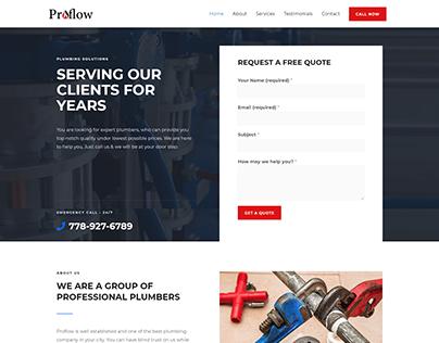 Website Design for Plumbing Business