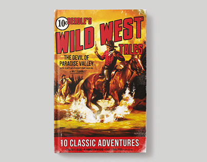 Beadle's Wild West Tales – Book Cover Design