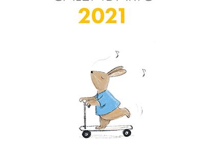Calendario 2021 Patricia de Cos / Calendar 2021