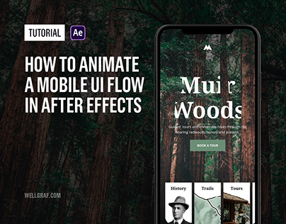 Tutorial - How to Animate a Mobile UI Flow