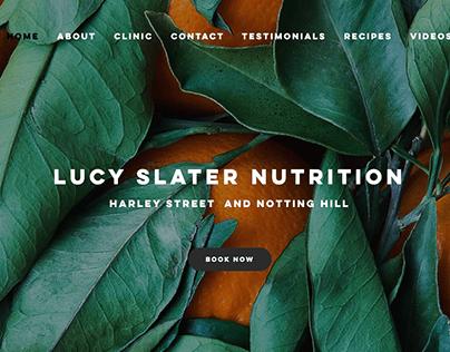 Lucy Slater Nutrition Website