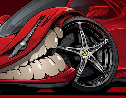 Ferrari 458 Italia #BeastedUp!