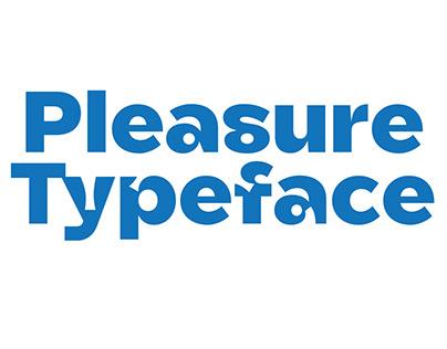 Pleasure Typefaces