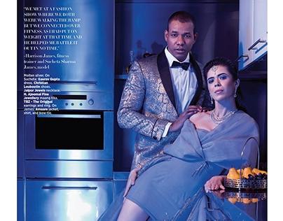 Real Couples - Harper's Bazaar Bride, India - Nov '17