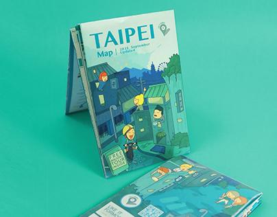 Taipei Map|台北旅遊地圖