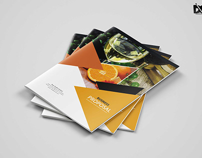Fruit Store Catalog Brochure Template
