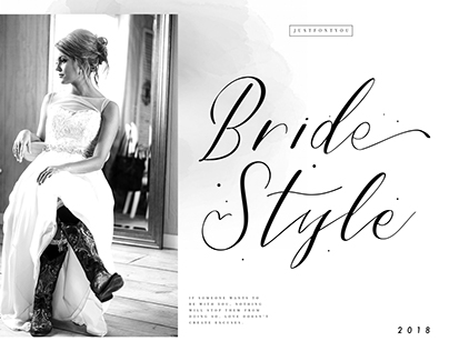 Bride Style - Modern Calligraphy Font