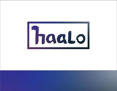 Logo design haalo