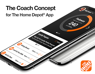 The Coach Concept for The Home Depot® App -