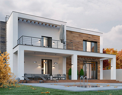 Private contemporary house,Kamianets-Podilskyi, Ukraine