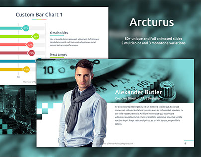 Arcturus - Free PowerPoint Template