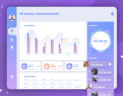 Daily UI Challenge 07 -CRM System