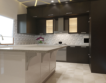 Designer Kitchen Project Done By Wahab Ahmad