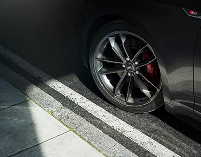Friendly Shade Test : 01 - Wheel Detail