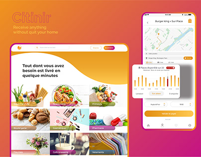 Citinir Order & Deliver Products    CRM app