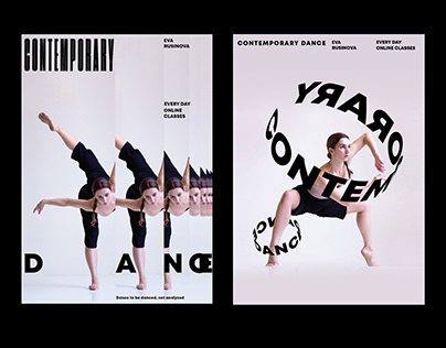 Contemporary Dance Posters