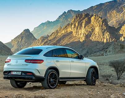 Mercedes-Benz GLE 63S Photoshoot
