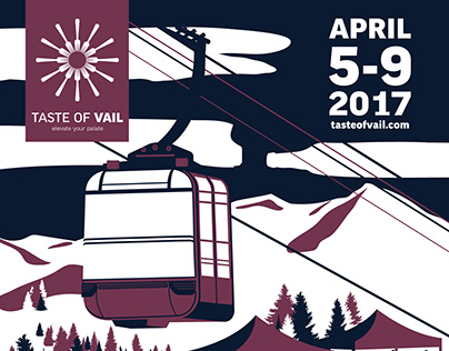 Taste of Vail 2017 • Branding