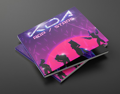 K/DA CD Package Concept