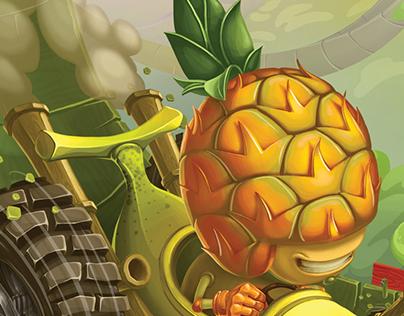 Fruit Madness Illustration