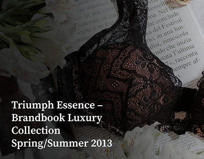Triumph Essence Brand Book SS 2013