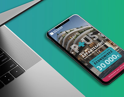 BNP Paribas | Concept, création de site