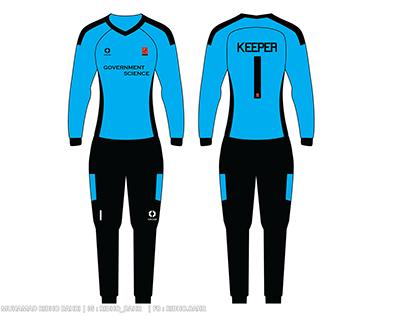 Futsal Design of the Faculty of IP Female Shirt Unjani