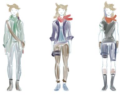 Original Character Design (Jacqueline)