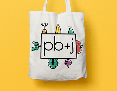 pb+j brand identity