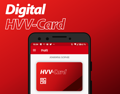Designing the HVV-Card into the App